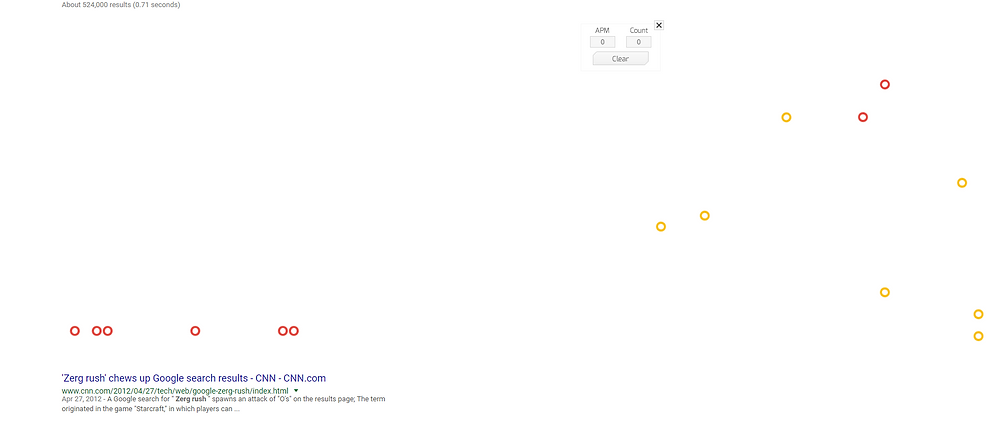 """Google's """"Zerg Rush"""" trick"""