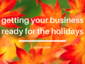 Getting Your Business Ready for the Holidays