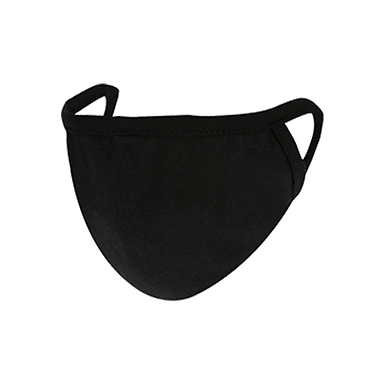 Cloth Masks (3 Py Reusable) Black