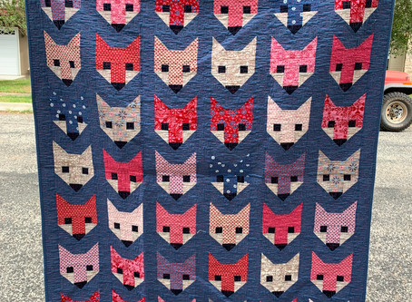 So many foxes in one place