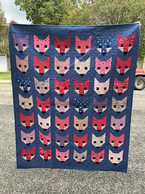 Fancy Fox Quilt Kit