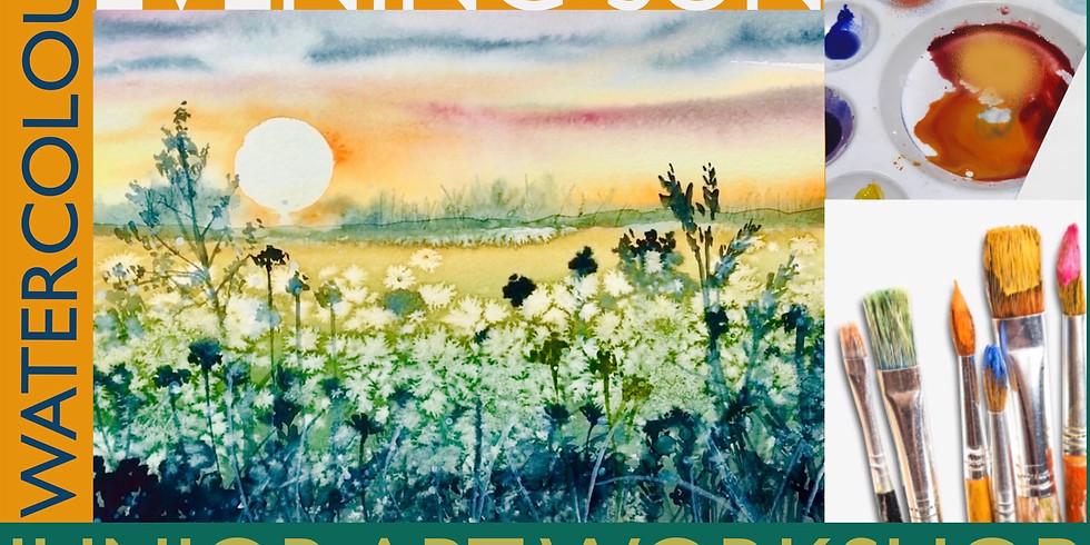 Junior Art Workshop - Evening Sun