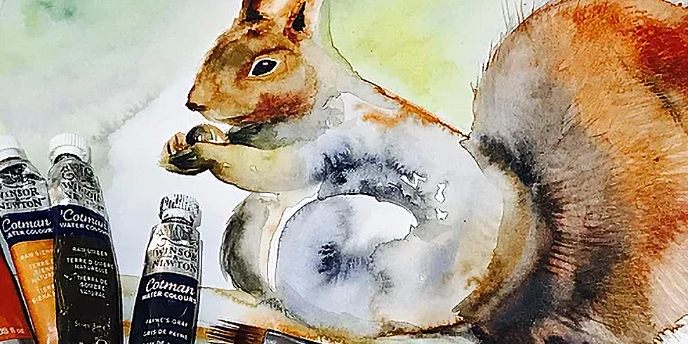 Family Watercolour Workshop 'Red Squirrel'