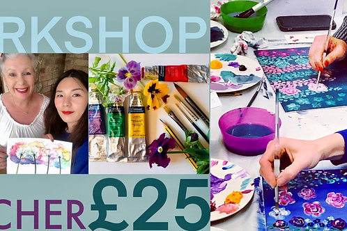 £25 Workshops Gift Voucher