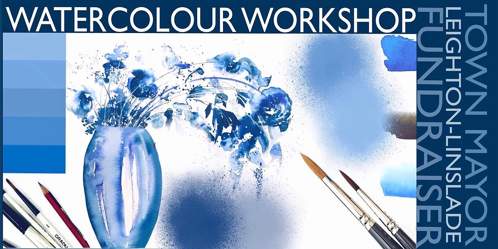Into the Blue - Watercolour Workshop