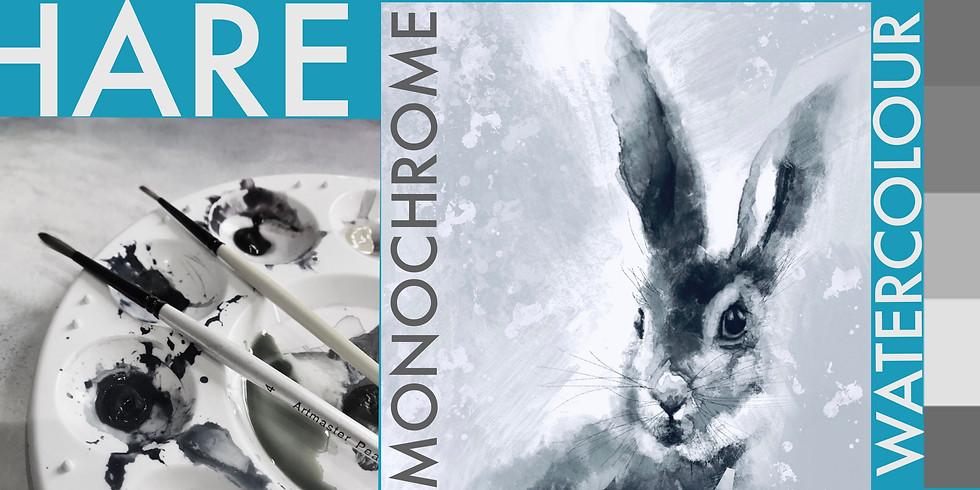 Midnight Hare - Monochrome (2) NEW DATE