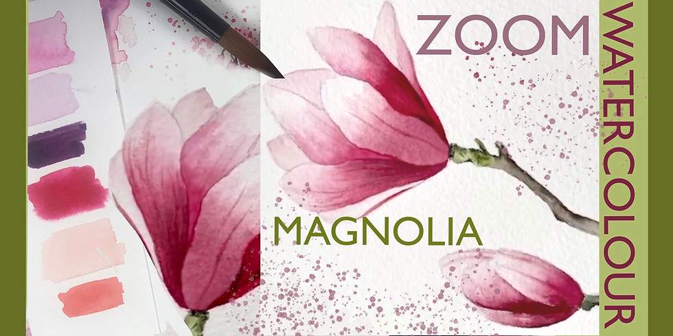 Magnolia Watercolour