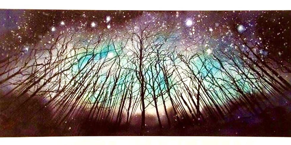 Junior Art Workshop - Starry Night (Age 11-15)