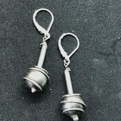 Dangling Ball Earrings