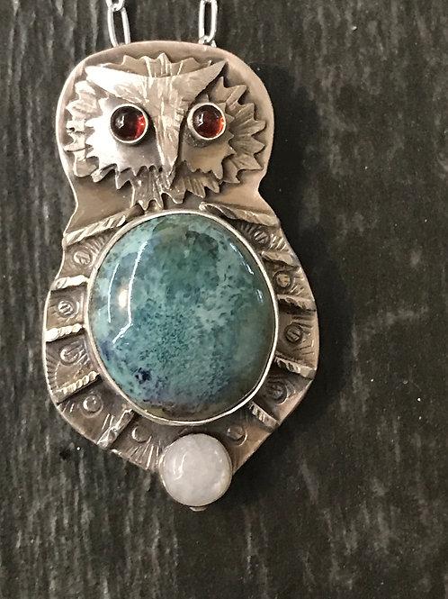 Owl Pendant 🦉