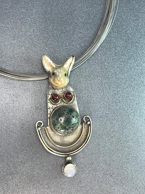 Rabbit Totem Pendant/Pin