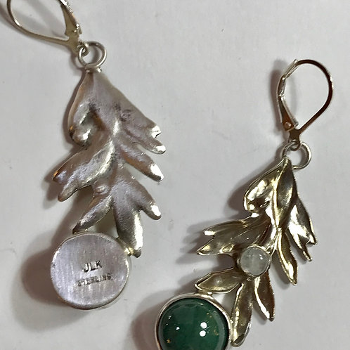 Leaf Sprig Earrings