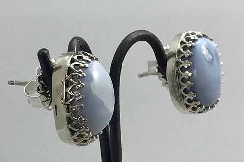 Owyhee opal earrings
