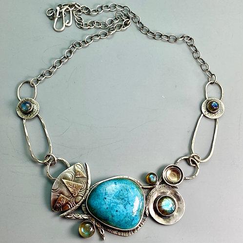 OOAK 35 Blues Necklace
