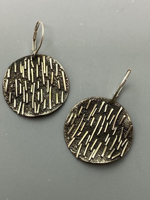 Free form Cofetti Drip Earrings