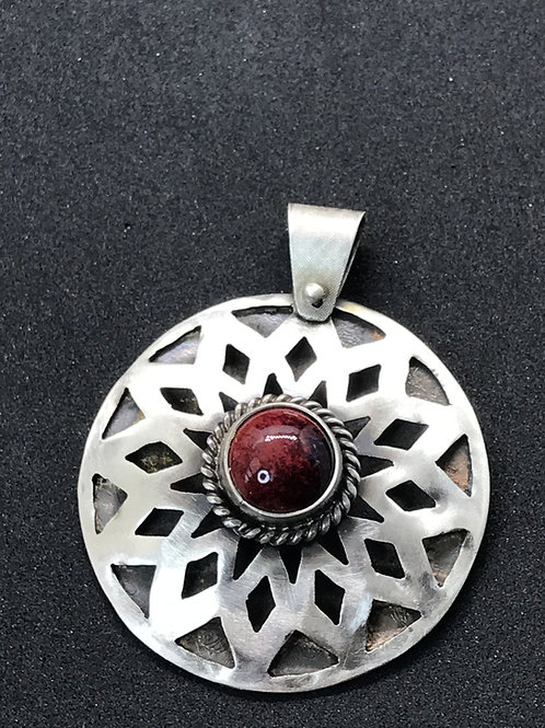Statement Pierced Pendant