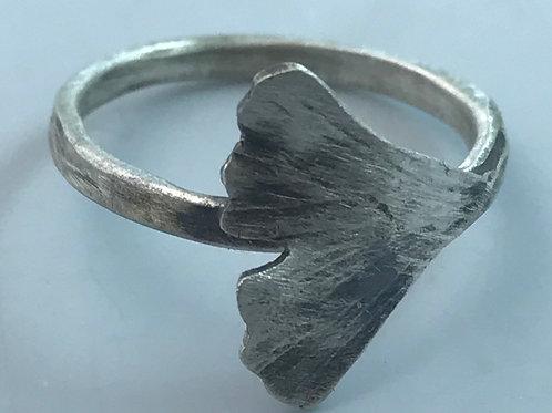 Ginkgo Ring-custom order