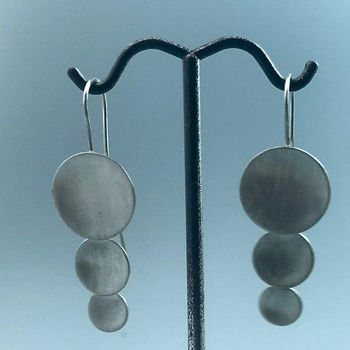 Falling Disk Earrings