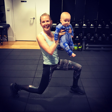 Buggy fitness with a cute weight