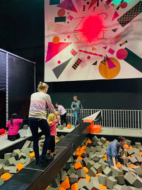 ZAPspace Trampoline Park – a bouncing paradise