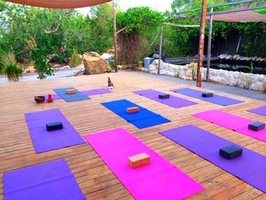 Terrasse Yoga Ibiza