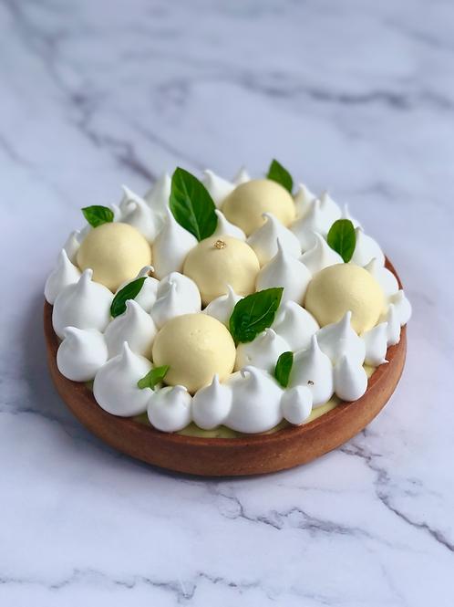 Lemon & Basil tart