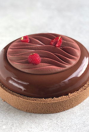 Chocolate and raspberry dream