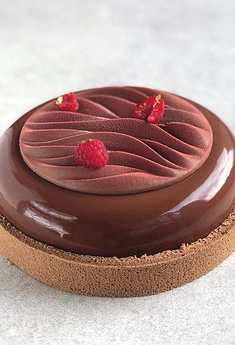 Chocolate and raspberry dream
