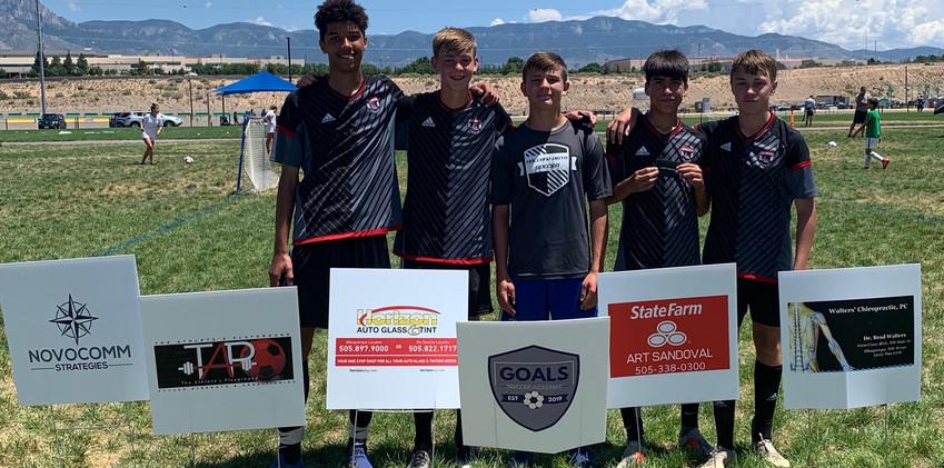 Amigos 04 - High School Age Group Winners