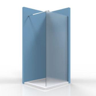 "Shower Glass Clear 80x200 (30""x79"")"