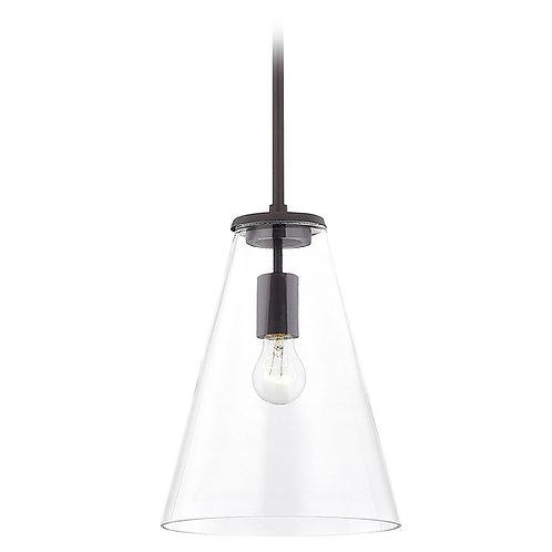 Design Classics Matta Neuvelle Bronze Pendant Light with Conical Shade