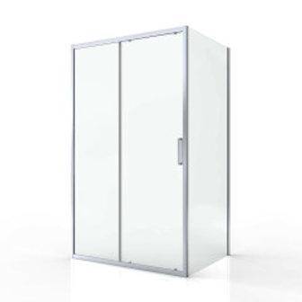 Sliding Shower Door 117x195mm