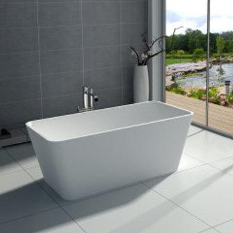 Bathtub Alison White Rectangular