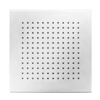 Square Polished Chrome Shower Head