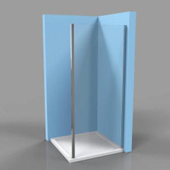 Shower Wall For Shower Door 77x195.6mm