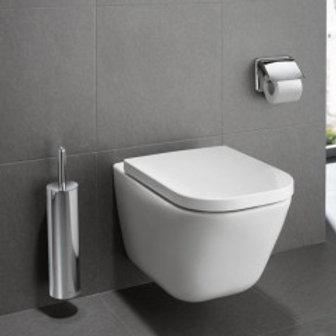 Roca Clean Rim - Wall-hung Toilet - The Gap