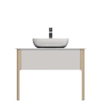 Scandinavian Single Vanity 98x55x72.5cm