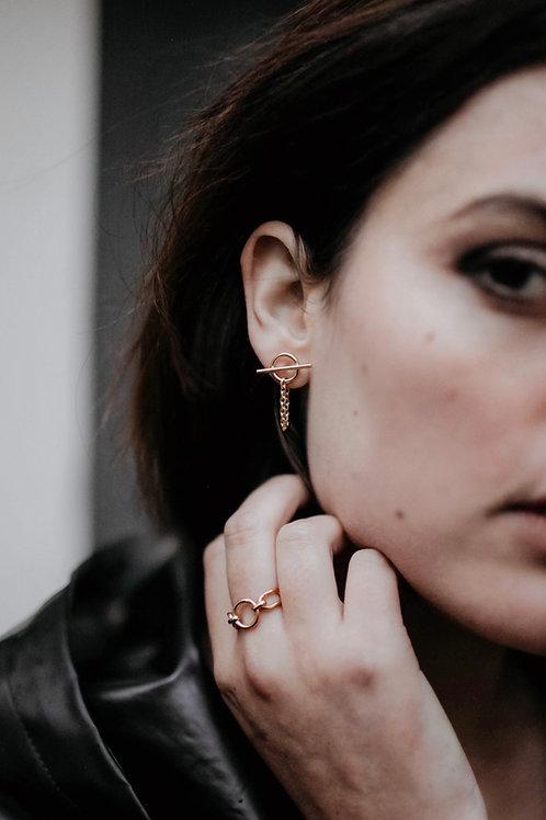 Boucles d'oreilles Patti vermeil - Patti earrings