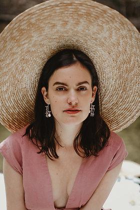 Cartouche earrings