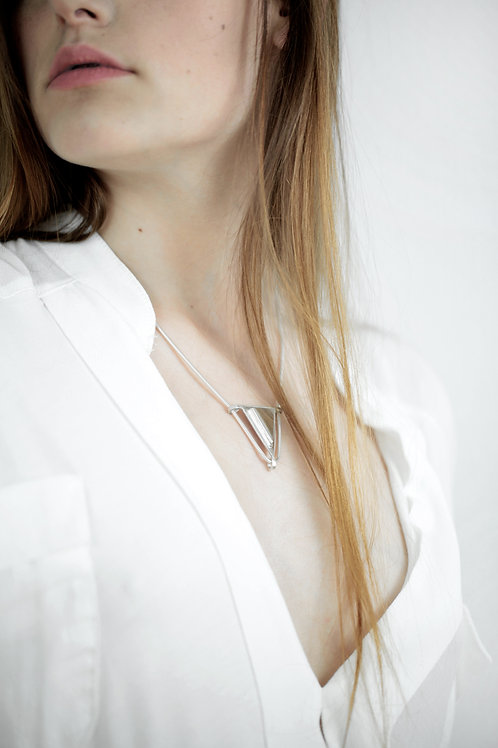 Chunky Triangle Necklace