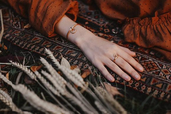 Bracelet Enlacé vermeil
