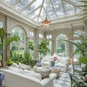 How to Decorate the Sun Room / Conservatory