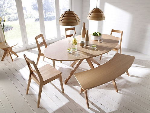 Malmo Dining Set - 6 Seats