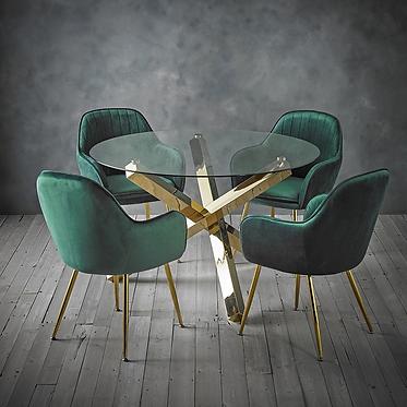Capri Dining Set - 4 Seats