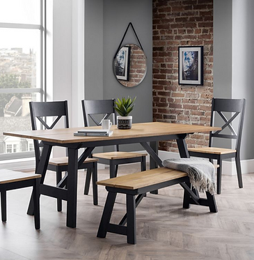 Hockley Dining Set - 6 Seats
