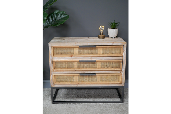 Sofia Chest of 3 Drawers
