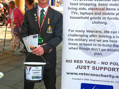 Bath man supports forces veterans