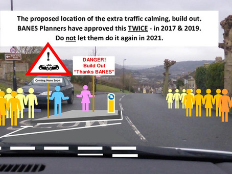 """Bath residents protest against planned """"lethal"""" changes to busy through road"""