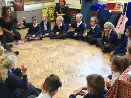 Shoscombe School gets poetic with visit to Egg Theatre, Bath