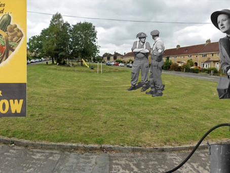 A street in time: Roundhill Park in the Second World War
